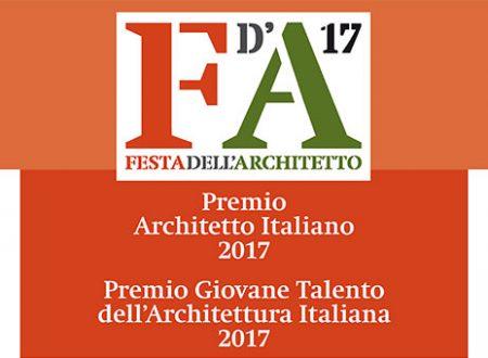 """ARCHITETTURA:  """"FESTA DELL'ARCHITETTO 2017"""""""