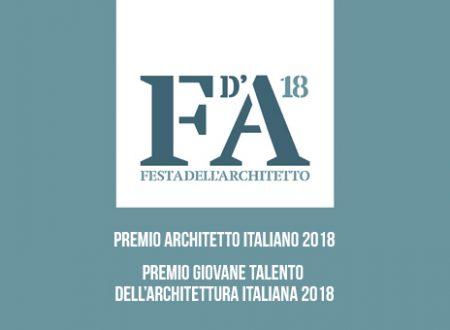 FESTA DELL'ARCHITETTO: PREMI ARCHITETTO ITALIANO E GIOVANE TALENTO