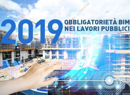 2019 l' ANNO DEL BIM NEGLI APPALTI PUBBLICI
