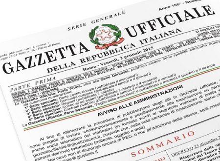 Gazzetta Ufficiale: tutte le misure del decreto-legge Crescita