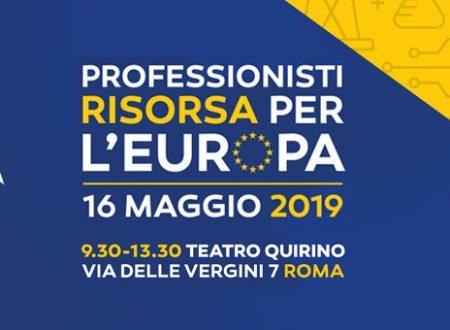 PROFESSIONISTI RISORSA PER L'EUROPA