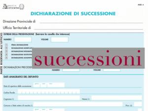 DICHIARAZIONE DI SUCCESSIONE IN TEMPO DI CORONA-VIRUS